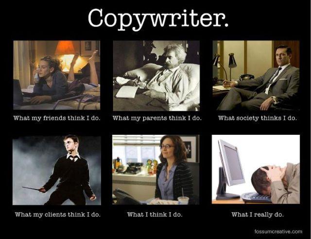 čo robí copywriter
